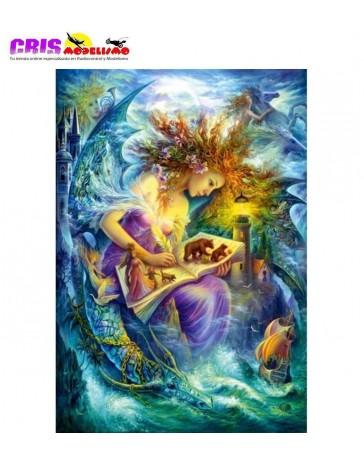 Puzzle Libro de Hada de 1500 piezas