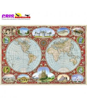 Puzzle Mapa del Mundo de 2000 piezas