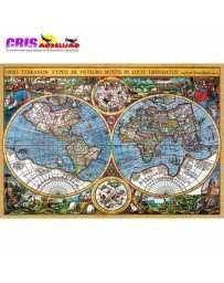 Puzzle Mapa del Mundo de 3000 piezas