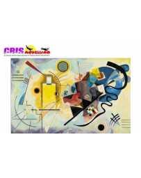 Puzzle Amarillo Rojo Azul de 500 piezas