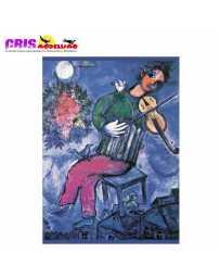 Puzzle Violinista Azul