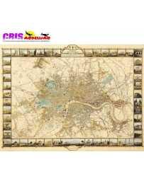 Puzzle Plan de Londres 1000 Piezas