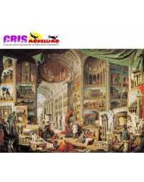 Puzzle Galeria con Vistas de la Antigua Roma de 1500 piezas