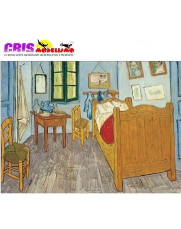 Puzzle La Habitacion de Van Gogh de 1500 piezas