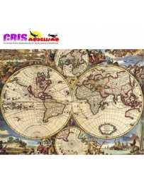 Puzzle Mapa del Mundo de 1500 piezas