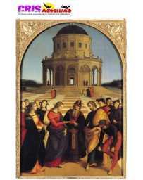 Puzzle El Matrimonio de la Virgen de 1500 piezas