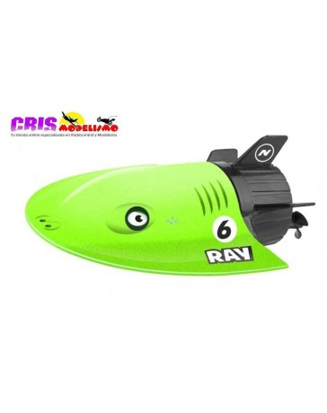 Lancha Nincocean Submarino Ray Verde