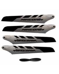 Recambio Set palas+Helice (Nincoair Alu Mini, Alu 3, graphite)