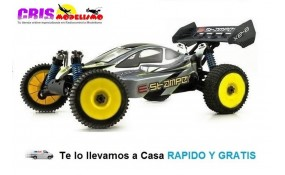 Coche E-Stamper Buggy brushless RTR