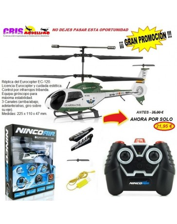 Helicoptero Nincoair EC120 Guardia Civil IR 3CH