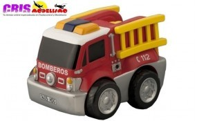 Juguete Kid Racers Camion Bomberos