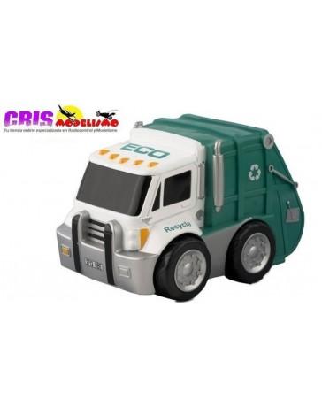 Juguete Kid Racers Camion Reciclaje