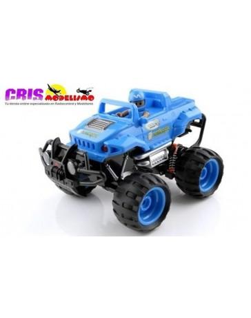 Juguete Kid Racers Impulsor Blue