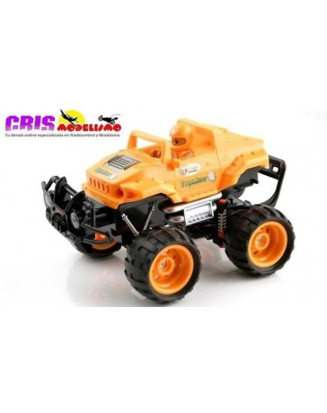 Juguete Kid Racers Impulsor Orange