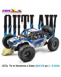 Coche FTX Outlaw U4 1/10 4WD Brushless Buggy RTR