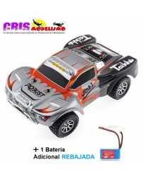 Coche Vortex A969 Gris Electrico RTR Con Bateria