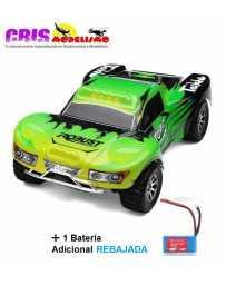 Coche Vortex A969 Verde Electrico RTR Con Dos Baterias