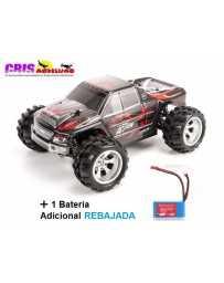 Coche Vortex A979 Negro Electrico RTR Con Dos Baterias