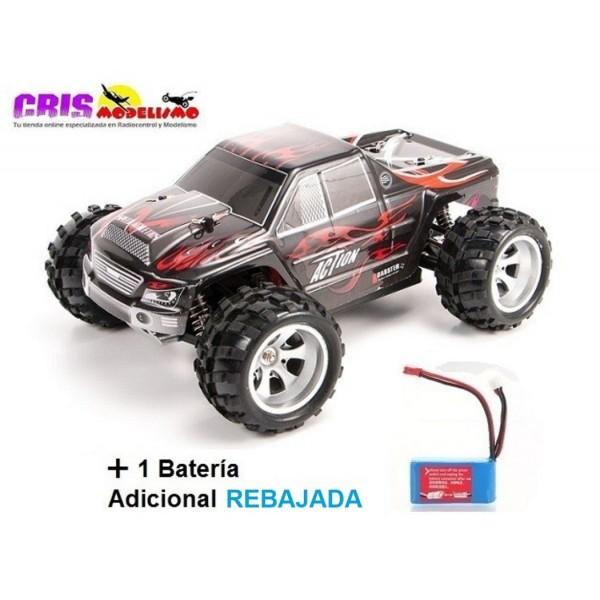 Coche Vortex A979 Negro Electrico RTR Con bateria