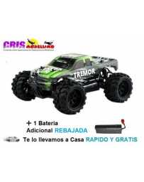 Coche Tremor Green Electrico RTR