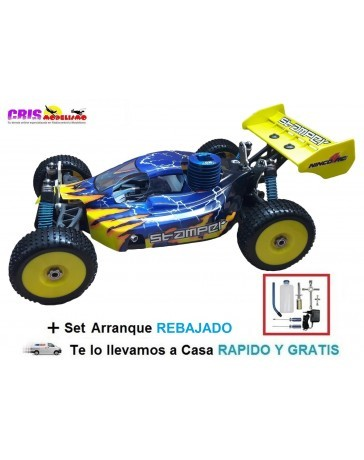 Coche Stamper Buggy Nitro RTR