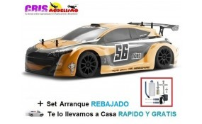 Coche Megane nitro RTR Con Set De Arranque