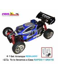 Coche 1/10 HSP Backwash Nitro RTR Con Set de Arranque