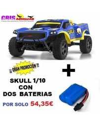 Juguete Parkracers 1/10 Skull Con Dos Baterías