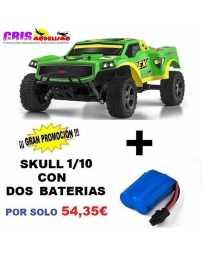 Juguete Parkracers 1/10 Rex Con Dos Baterías