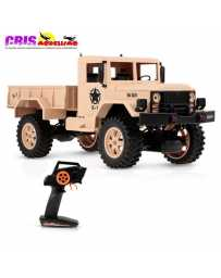 Coche Camion Militar Desierto 1/12 RTR 2,4Ghz Wltoys