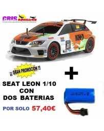 Juguete Parkracers Seat Leon