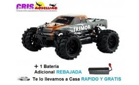 Coche Tremor Orange Electrico RTR Con Dos Baterías