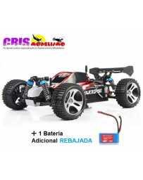Coche Vortex A959 Rojo Electrico RTR Con Dos Baterias