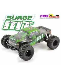 Coche FTX Surge Verde 1/12 4WD Brushed Monster Truck RTR