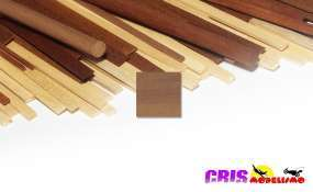 Accesorio Liston Simil Nogal 2x4mm Occre