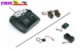 Accesorio Ulises Rc Pack Emisora y Receptor + Servos Occre