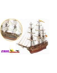 Maqueta Barco Santisima Trinidad Pack 6 Occre