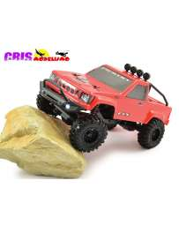 Coche FTX Outback Mini Rojo 1/24 4WD Brushed Crawler RTR