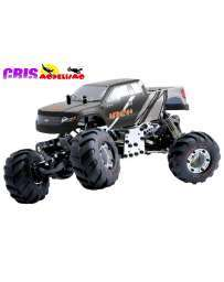 Coche FTX Mini Crawler Ibex Gris 1/24 4WD Brushed RTR