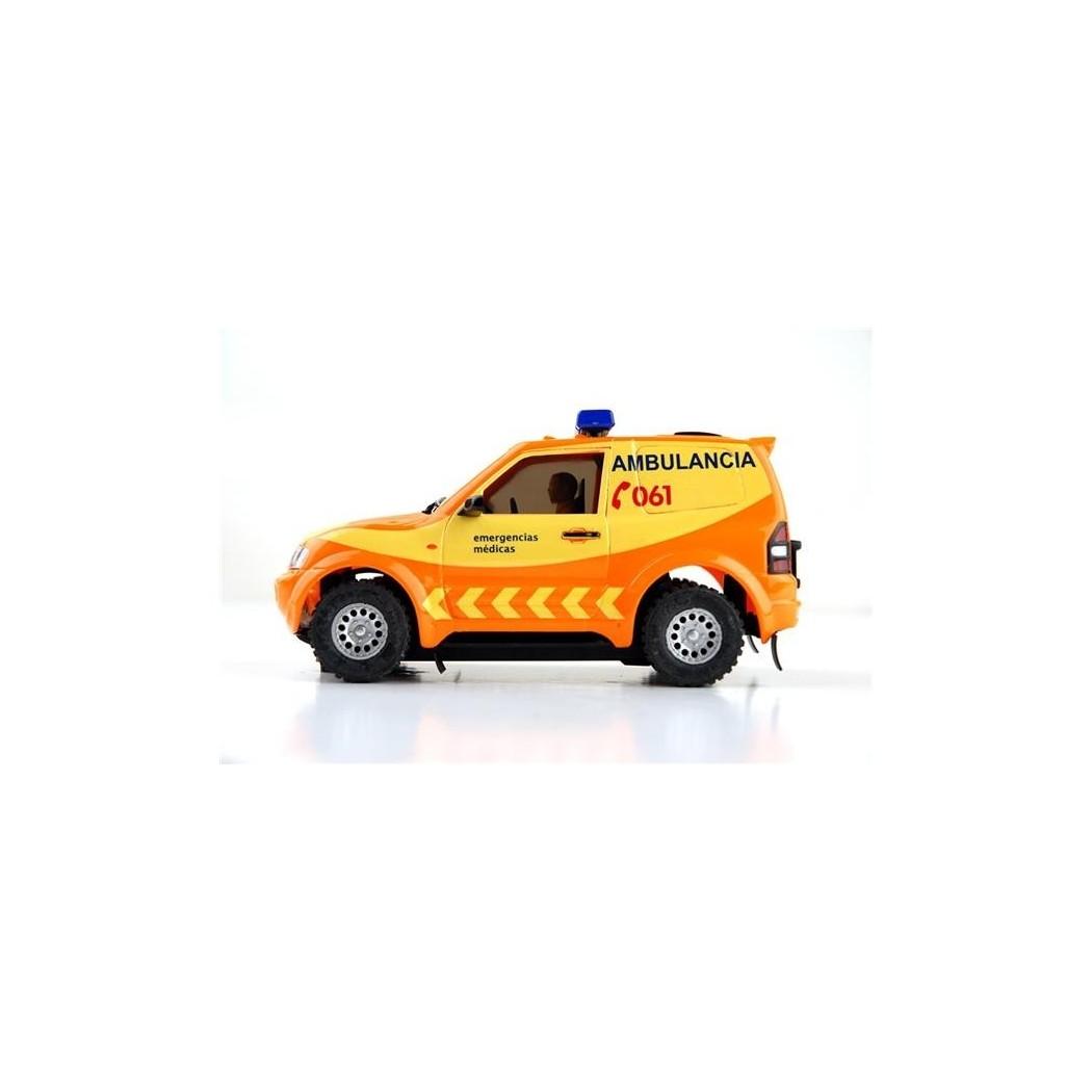 Coche Mitsubishi Pajero SEM Emergencias