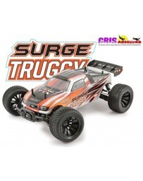 Coche FTX Surge Naranja 1/12 4WD Brushed Truggy RTR
