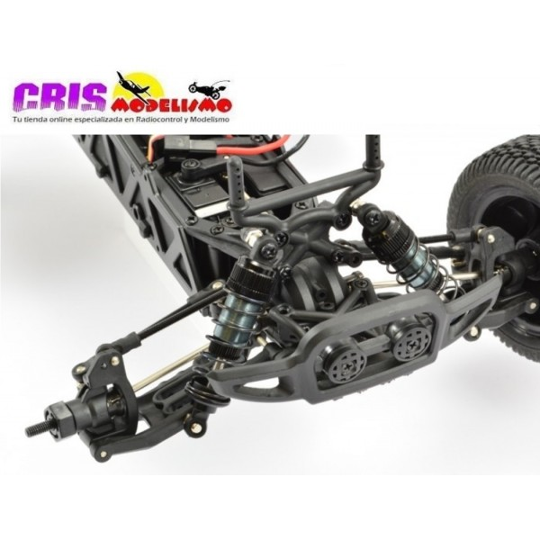 Coche FTX Surge Verde 1/12 4WD Brushed Truggy RTR