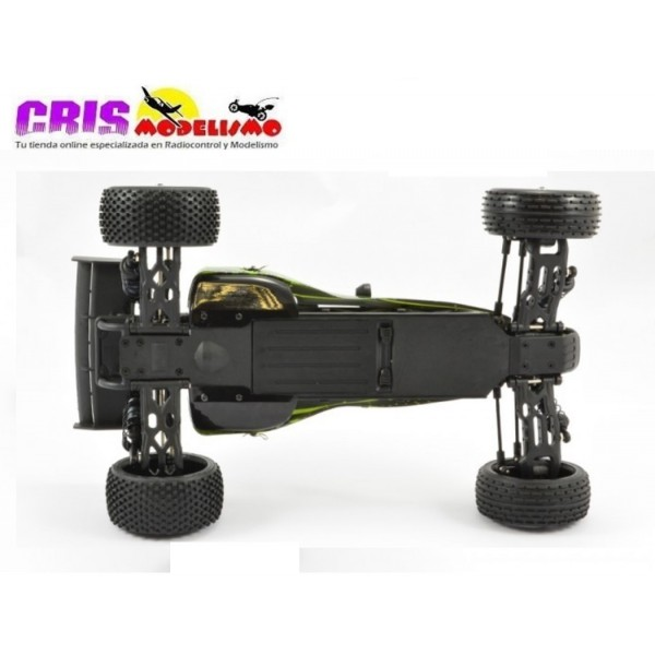 Coche FTX Surge Naranja 1/12 4WD Brushed Dune Buggy RTR