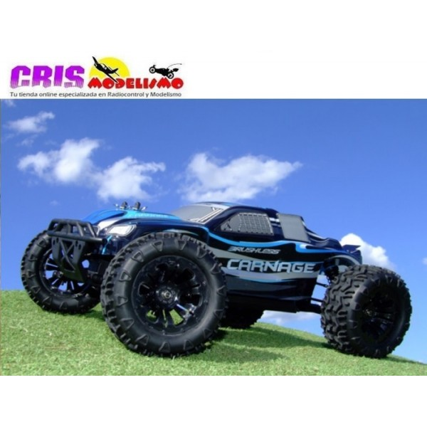 Coche Rc FTX Carnage 1/10 4WD Brushless Truggy RTR