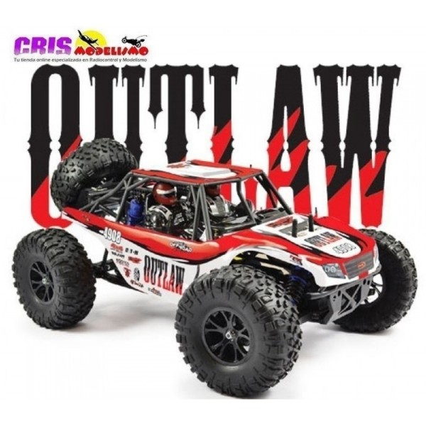 Coche FTX Outlaw U4 1/10 4WD Brushed Buggy RTR