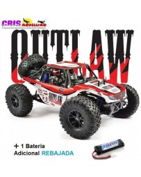 Coche FTX Outlaw U4 1/10 4WD Brushed Buggy RTR Con Dos Baterias