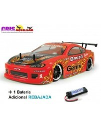 Coche FTX Banzai 1/10 4WD Brushed Drift RTR Con Dos Baterias