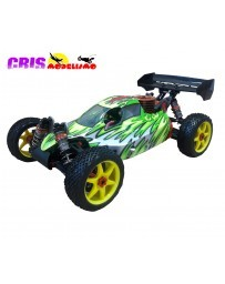 Coche Bazooka Version GT Verde Buggy Nitro RTR
