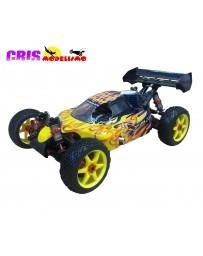 Coche Bazooka Version GT Amarillo Buggy Nitro RTR