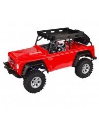 Coche VRX Crawler Jeep MC28 Rojo 1/10 4WD Brushed RTR